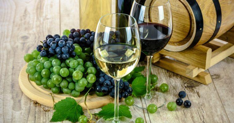 Witte wijn en haar eigenschappen.